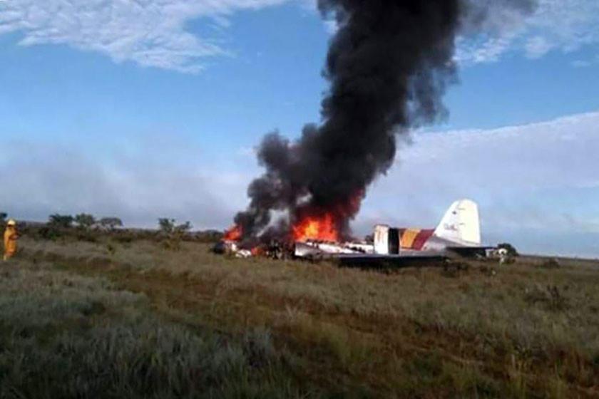 Accidente aéreo deja 12 personas muertas en el centro de Colombia