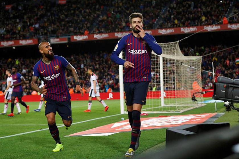 Barcelona vence sin brillo a Rayo Vallecano