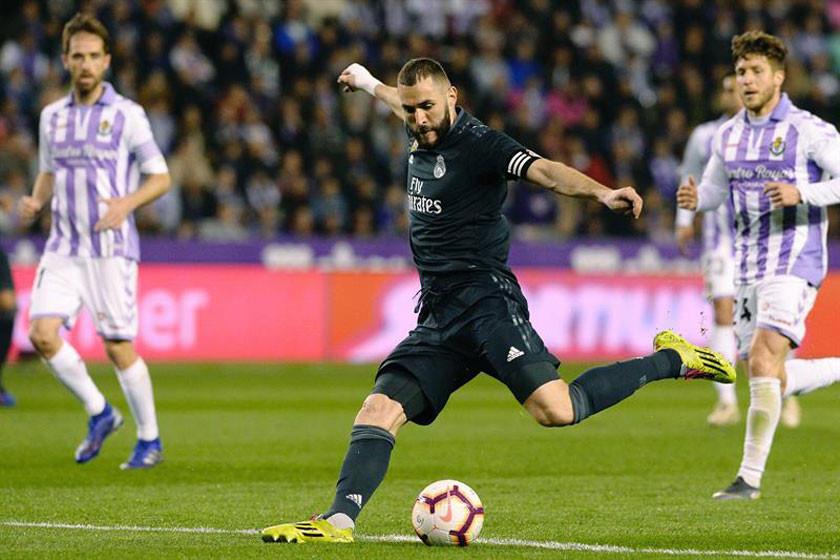 Real Madrid golea 4-1 a Valladolid