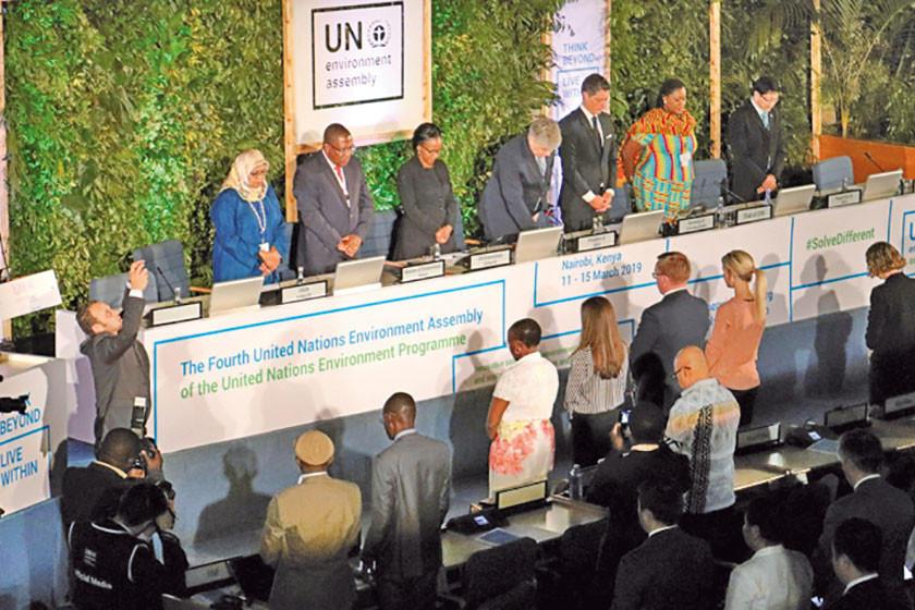 Reunión de medioambiente de la ONU inicia en medio de duelo