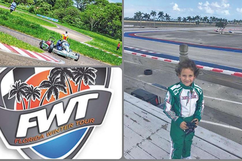 Lucas Careaga correrá en el mundial  de karting en Estados Unidos