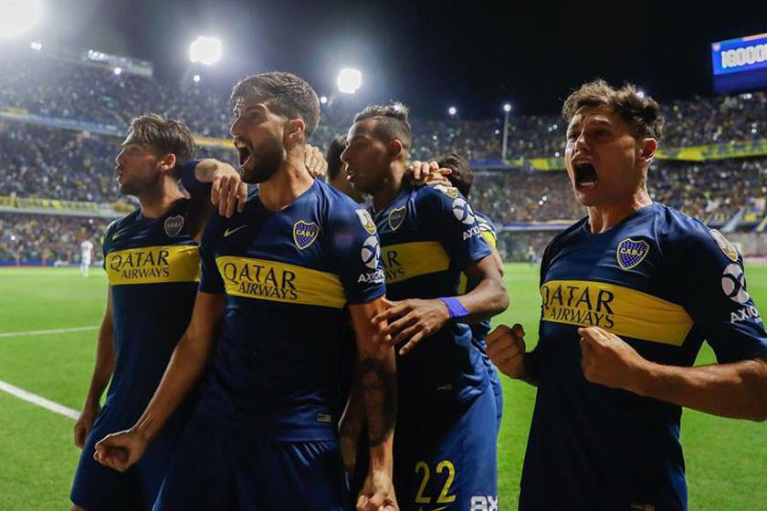 Boca golea a Deportes Tolima