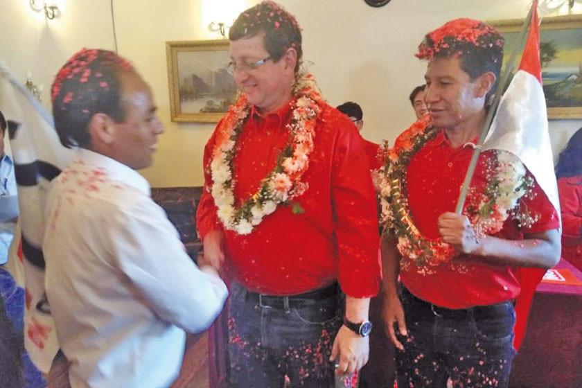 Las plataformas ciudadanas se unen a la alianza Bolivia Dice No