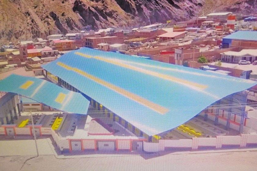 Entregan el nuevo mercado campesino en Cantumarca