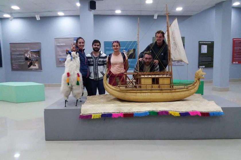 """Presentan la exposición """"el gran camino inka"""""""