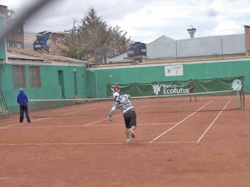 Potosí alberga el campeonato nacional G2 de tenis