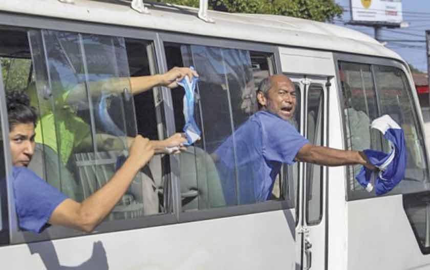 El Gobierno de Nicaragua excarcela a 50 manifestantes