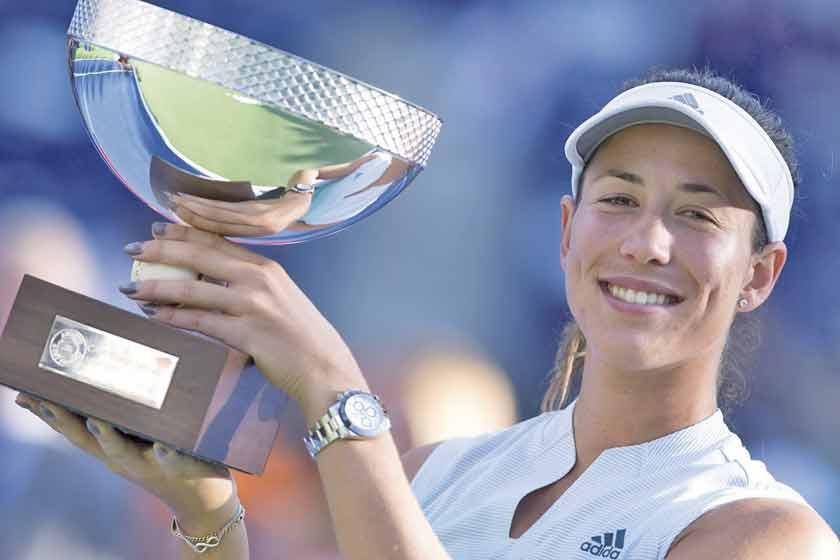 Muguruza logra título de tenis