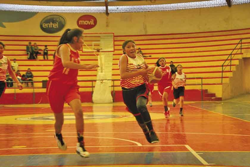 """Potosí será sede del torneo de básquet """"Libomenor"""" rama femenina U-13"""