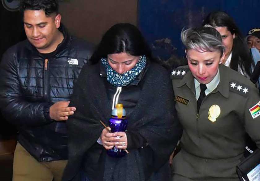 Envían a la cárcel a exjefa de la Uelicn por presunta corrupción