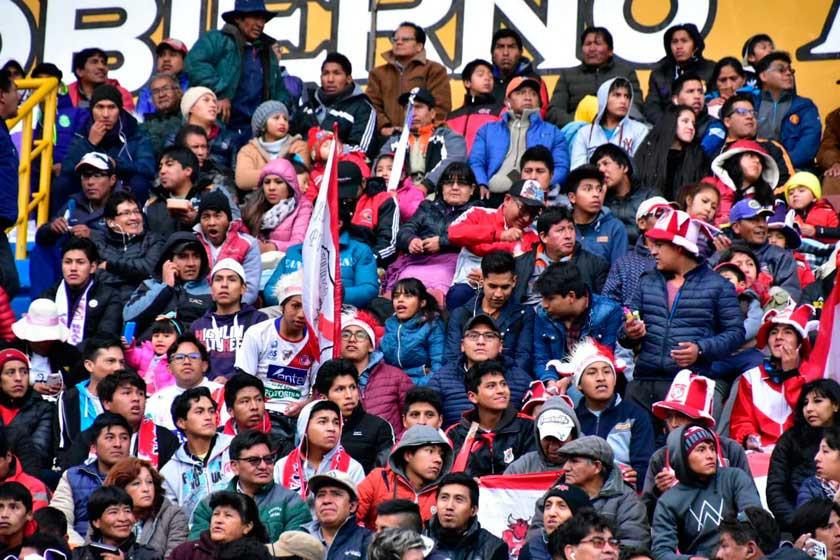 Las entradas para el choque contra Bolívar se venderán hoy desde las 14:00