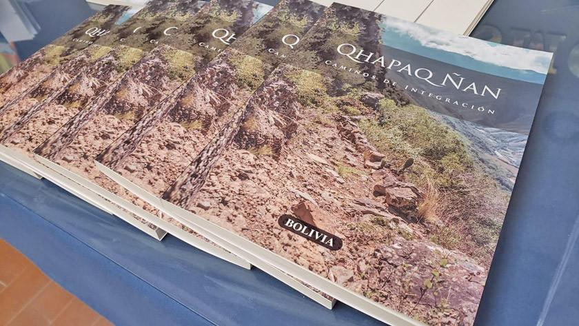 Presentan el libro Qhapaq Ñan caminos de integración