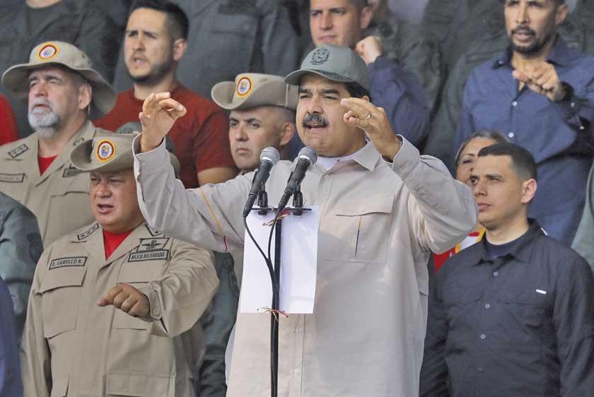 Maduro ordena a militares que inicien producción de alimentos