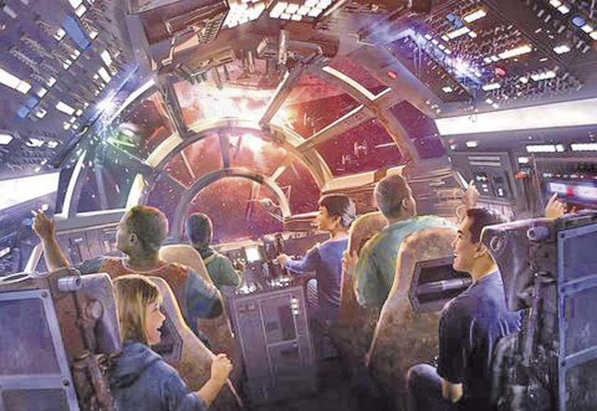Disneyland abre atracción de la Guerra de las Galaxias