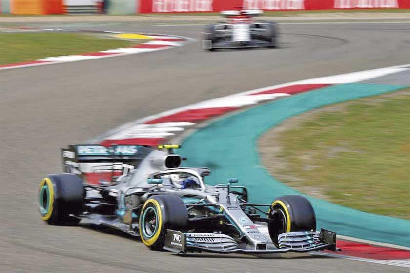 """Bottas logra la """"pole"""" en el Gran Premio de China"""