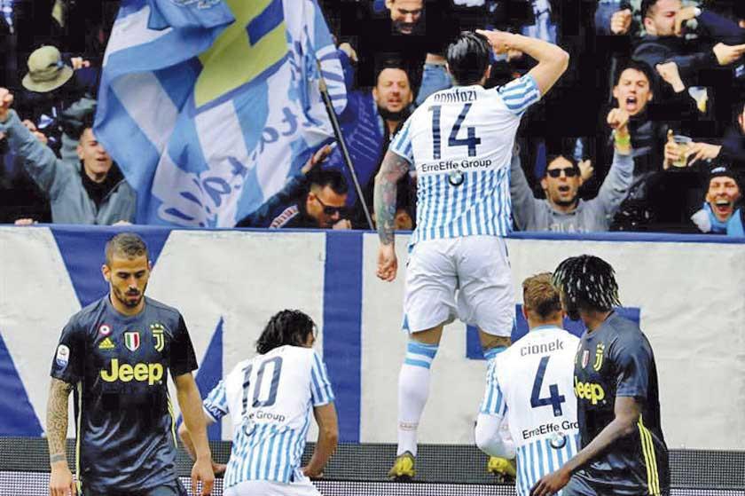 Spal aplaza el título de Juventus de Turín