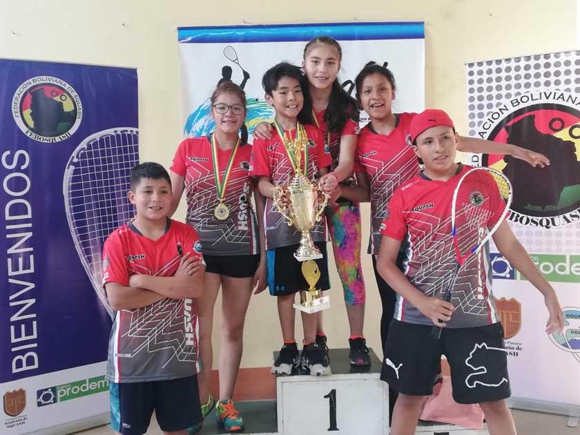 Potosí logra el primer título nacional de Squash