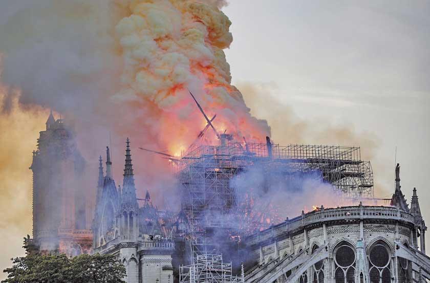 La Unesco ofrece su ayuda para restaurar la mítica catedral