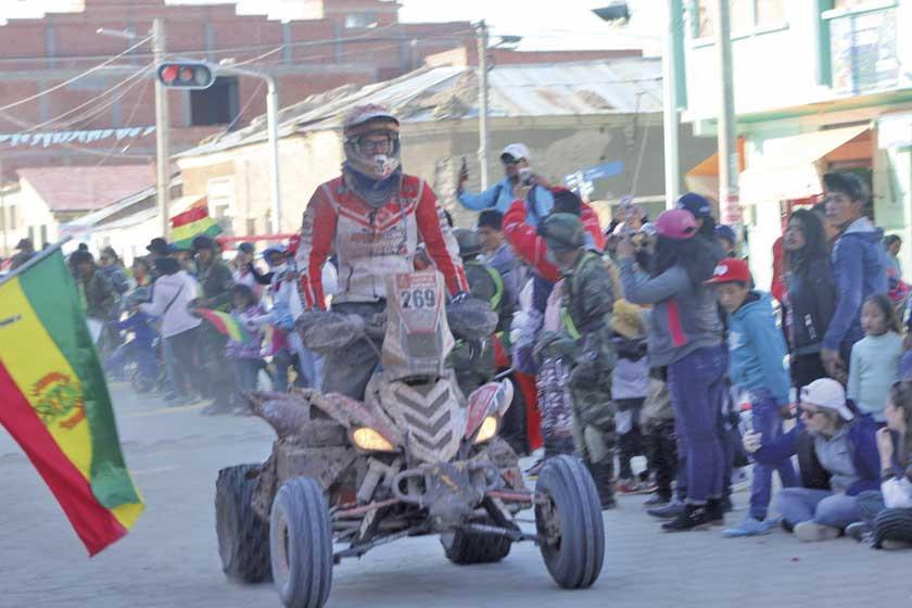 El Dakar deja Sudamérica