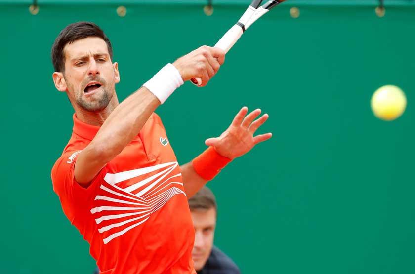 Djokovic sufre en su debut en Montecarlo
