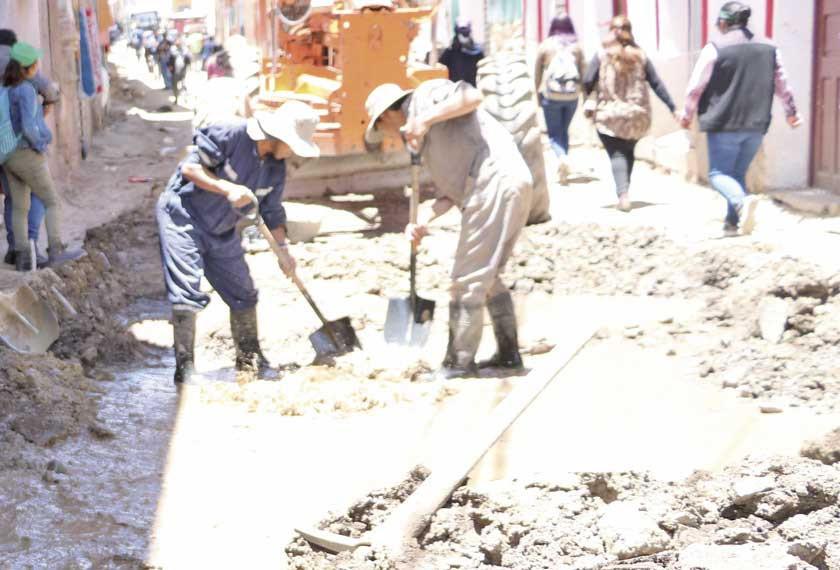 Alcaldía anuncia iniciar trabajos en dos calles