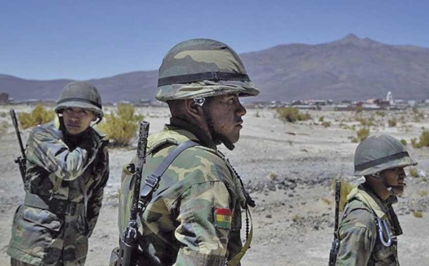Reportan que un militar fue herido en operativo anticontrabando en Llica