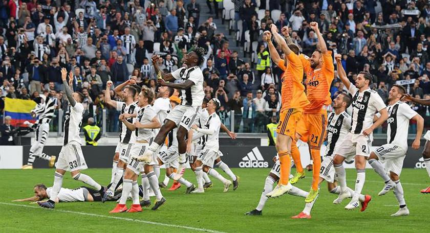 Juventus se consagra campeón  de la Serie A Italiana