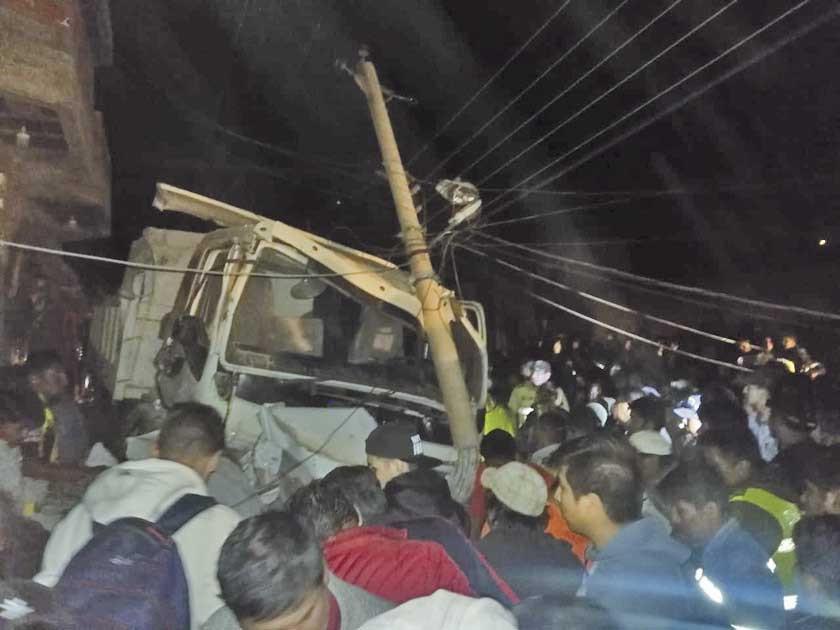 Reportan un fallecido en accidente vial en Tupiza