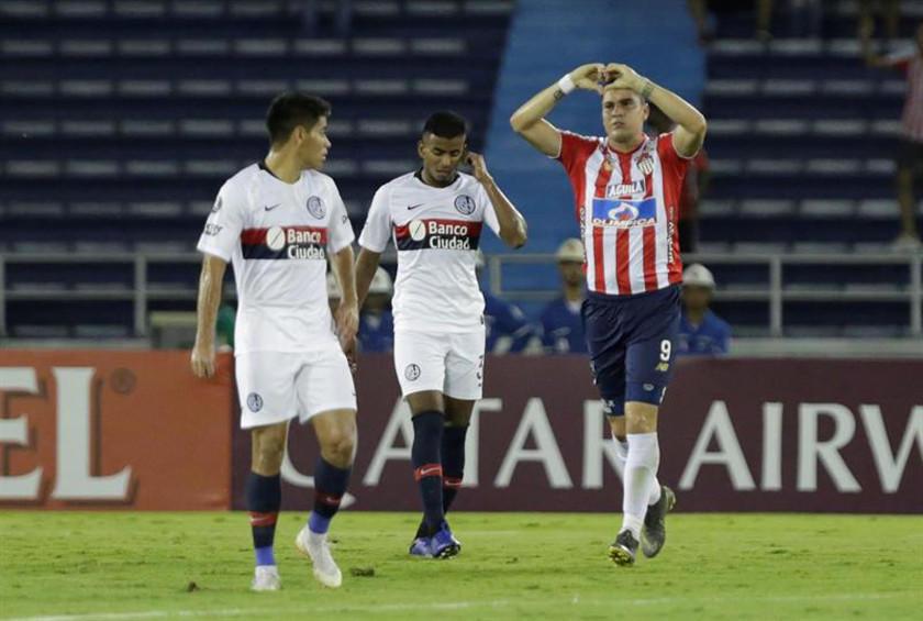 Junior de Barranquilla vence a San Lorenzo