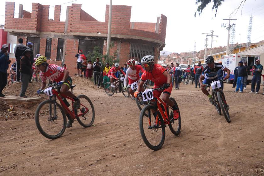 Potosí albergará el fin de semana  la prueba nacional de ciclismo