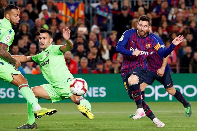 Barcelona logra otro título de la mano de Lionel Messi