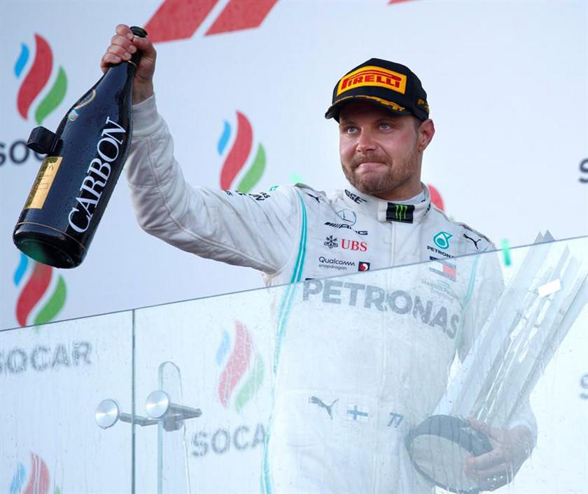 Bottas gana el GP de Azerbaiyán
