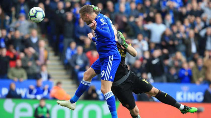 Leicester gana a Arsenal y le complica sus opciones de clasificarse a la Champions