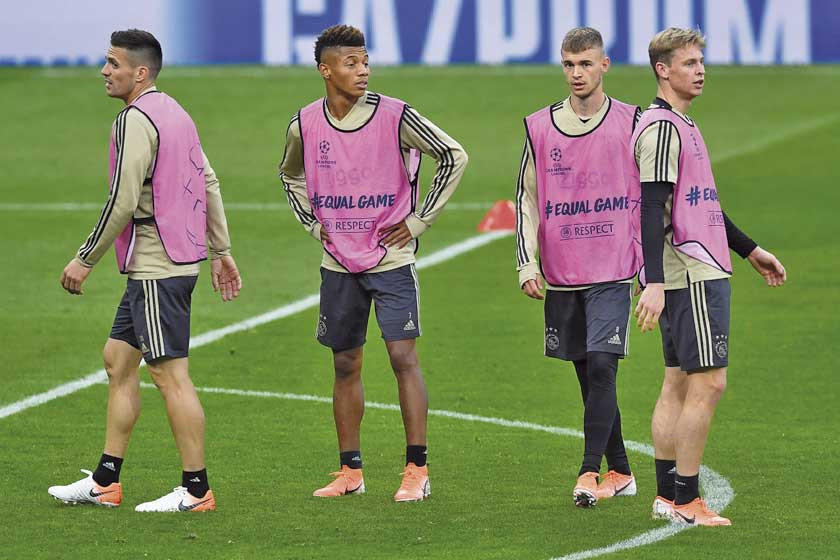 Tottenham y Ajax abren semifinales