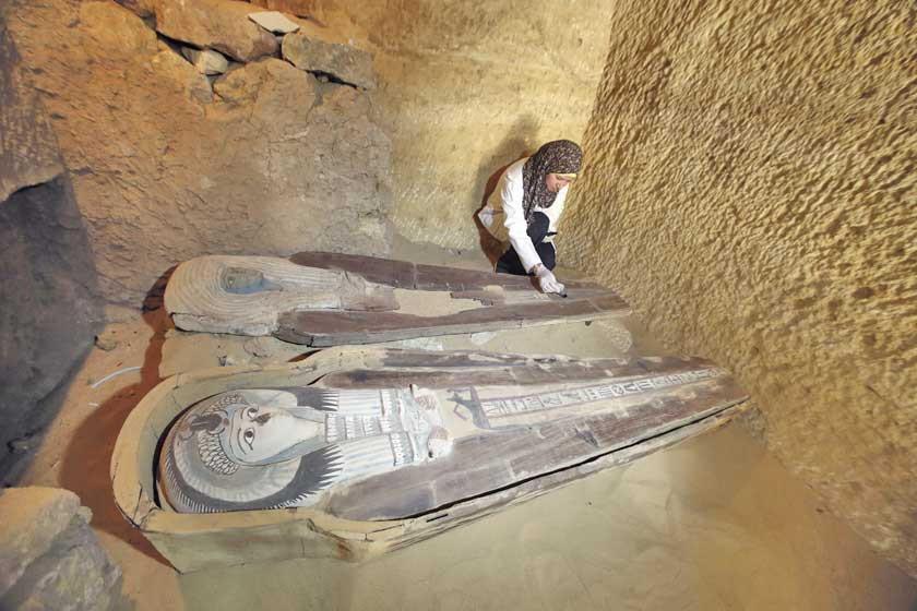 Egipto descubre otras tres tumbas