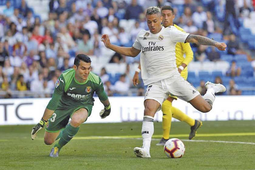 El Real Madrid venció a Villarreal