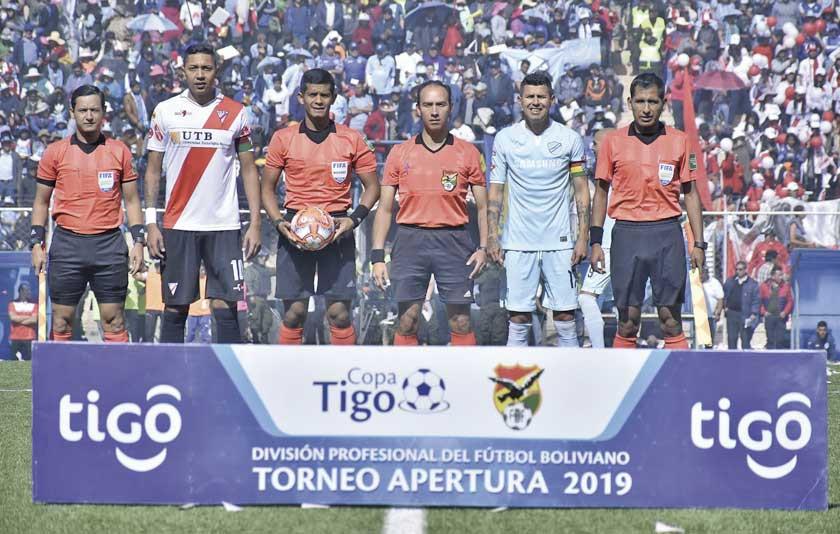 Sortearán árbitros en 3 partidos del Apertura