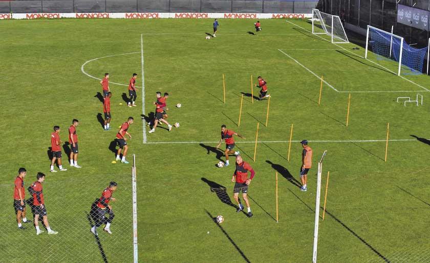 Bolívar quiere dar otro paso hacia el título del torneo de la división profesional