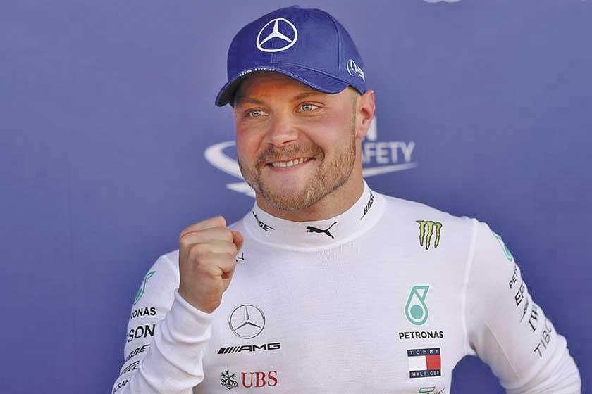 Valtteri Bottas saldrá desde la primera posición en el Gran Premio de España