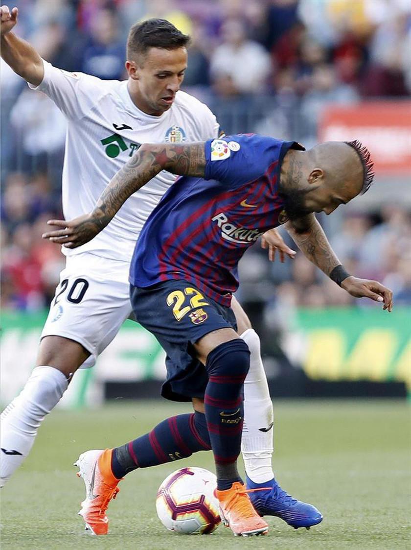 """Barcelona vencío a Getafe en el """"Camp Nou"""""""