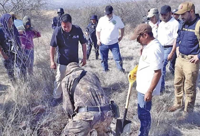 México localiza 222 fosas y 337 cuerpos en los últimos cinco meses