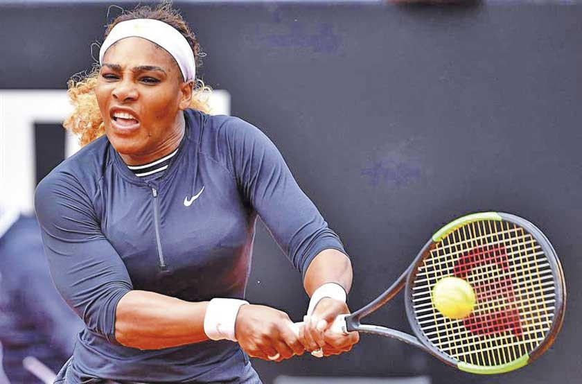 Serena se retira del torneo de Roma