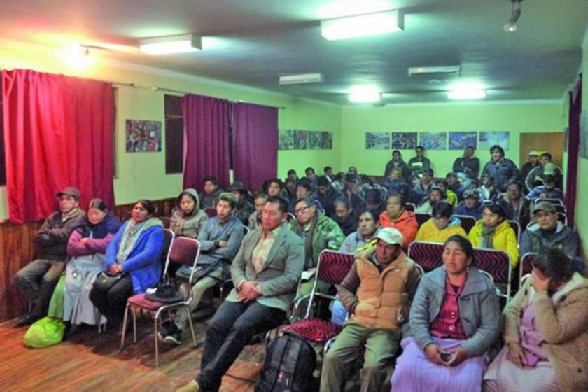 Cívicos analizan hoy posición gubernamental sobre el Silala