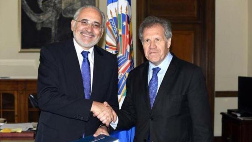 Mesa confirma reunión con Luis Almagro para conversar sobre el 21F
