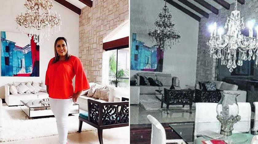 Magistrada Choquerive admite que grabó spot en casa del extraditable