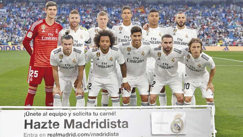 El Real Madrid vuelve a ser el club más  valioso del mundo en 2019
