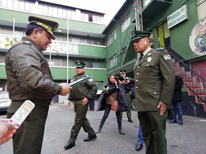 Cambian al director de Tránsito como parte de la reestructuración policial