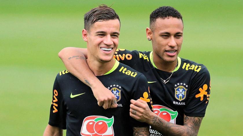 Brasil convoca a Neymar y Coutinho para la Copa América