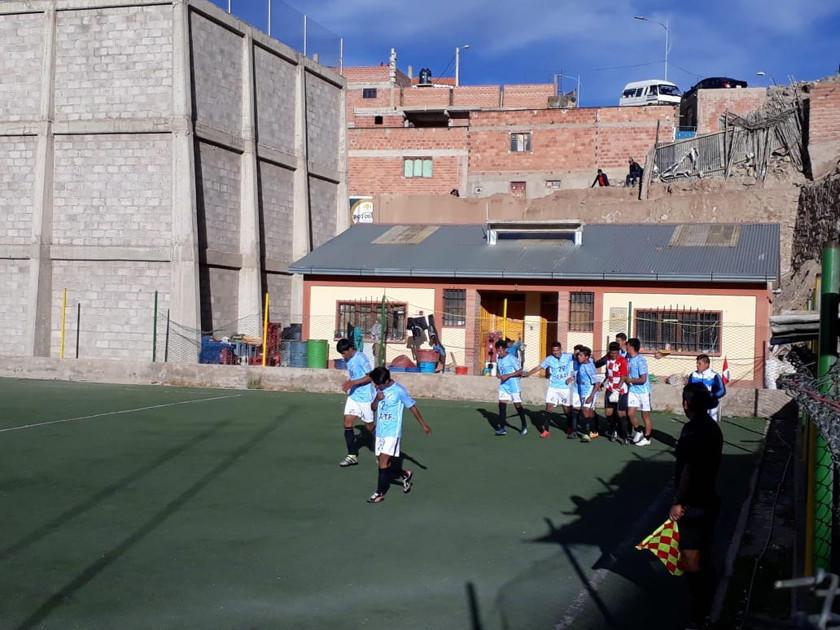 Interfi se juega la cima del torneo de la AFP ante Cotagaita
