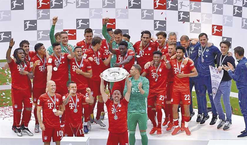 Bayern Múnich se corona campeón de la Bundesliga
